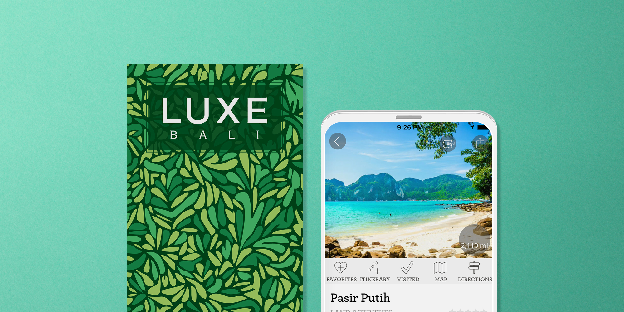LUXE Bali Print and Digital Guides