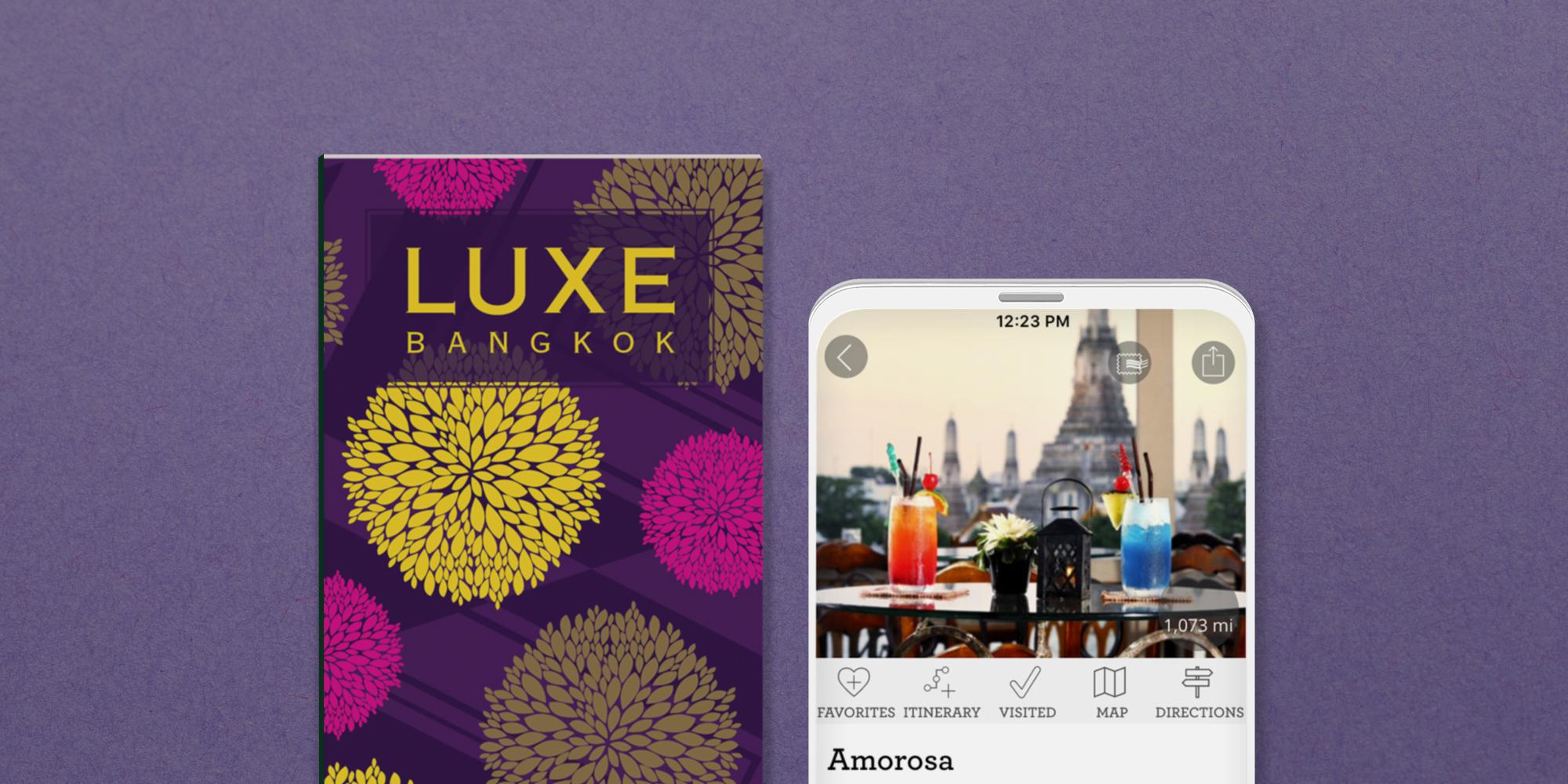 Bangkok print guide and digital guide