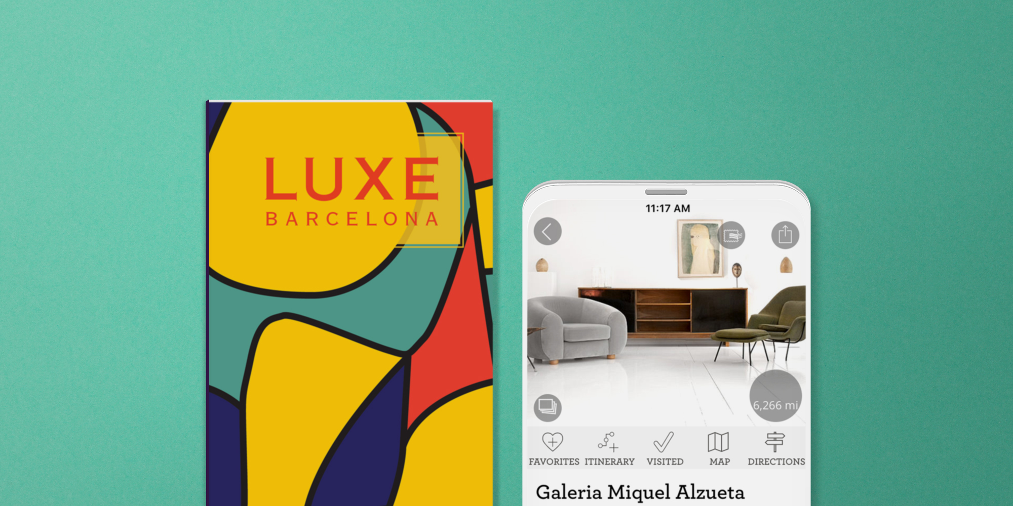 Barcelona print guide and digital guide